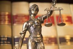 Статуя Themis юридического офиса законная Стоковое Фото
