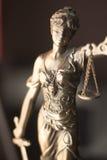 Статуя Themis юридического офиса законная Стоковые Изображения