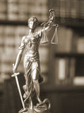 Статуя Themis юридического офиса законная Стоковое Изображение