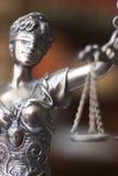 Статуя Themis юридического офиса законная Стоковое фото RF
