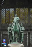 статуя theodore roosevelt Стоковые Фотографии RF