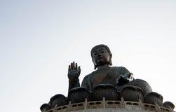 Статуя Tian Tan большая Будды Стоковая Фотография