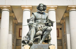статуя velazquez стоковые фотографии rf
