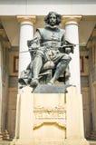 статуя velazquez стоковые изображения rf