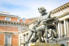 статуя velazquez стоковые изображения