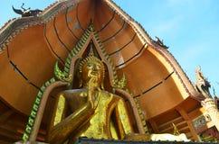 Статуя Wat Tham Sua Kanchanaburi Будды стоковые изображения