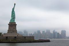 статуя york вольности города новая Стоковое Фото