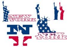 статуя york вольности новая Стоковые Фотографии RF