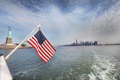 статуя york вольности города новая Стоковые Фото