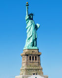 статуя york вольности города новая стоковое фото rf