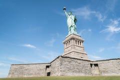 статуя york вольности города новая Стоковая Фотография RF
