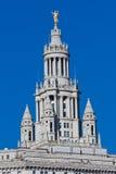 статуя york skyscrapper города золотистая новая Стоковые Изображения RF