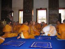 Стать монахом Стоковое фото RF
