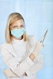 стационар доктора женский медицинский стоковая фотография rf