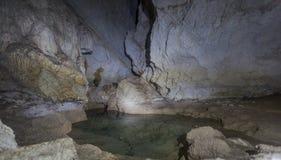 Сталагмиты пещеры Стоковое фото RF
