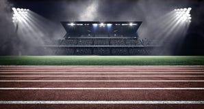 Стадион атлетики Стоковая Фотография RF