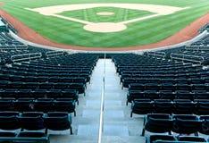стадион бейсбола Стоковая Фотография