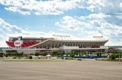 Стадион вождей Kansas City стоковые изображения rf
