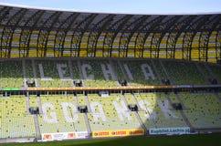 Стадион в Гданьск, Польша арены PGE Стоковое Изображение RF