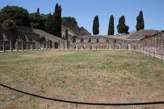 Стадион в руинах Помпеи Стоковая Фотография RF