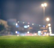 Стадион в светах Стоковая Фотография