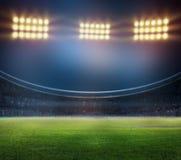 Стадион в светах Стоковое Изображение