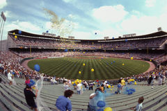 Стадион графства, Milwaukee, WI Стоковая Фотография RF