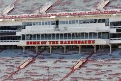 Стадион Дональда W. Reynolds Razorback Стоковое Изображение RF