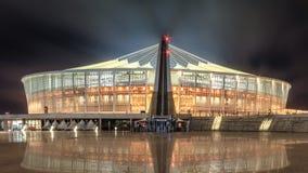 Стадион Дурбана Моисея Mabhida стоковые изображения rf