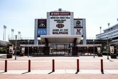 Стадион Картера-Finley, Cary, Северная Каролина стоковые изображения