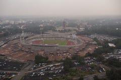 Стадион Мексика 68 университета стоковое фото rf