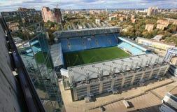 Стадион от крыши стоковые фотографии rf