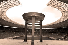 Стадион Олимпии ` s Берлина Стоковое фото RF