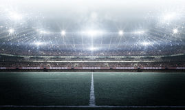Стадион, перевод 3d Стоковые Изображения