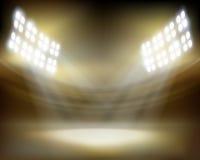 Стадион перед выставкой также вектор иллюстрации притяжки corel Стоковая Фотография