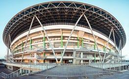 Стадион спортзала на восходе солнца Стоковое фото RF