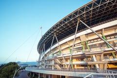 Стадион спортзала на восходе солнца Стоковое Изображение RF