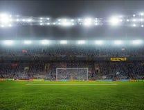 Стадион с вентиляторами Стоковое Изображение