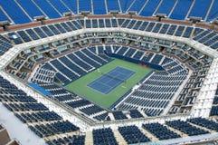 Стадион тенниса стоковые фотографии rf