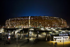 стадион футбола fnb города национальный Стоковые Фотографии RF