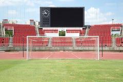 стадион футбола paris 01 города Стоковое Изображение