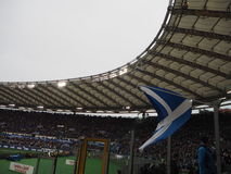 Стадион флага Шотландии стоковое изображение rf