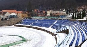 Стадион школьного двора Стоковое Изображение