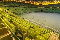стадион 43 615 зрителей pge арены Стоковые Изображения RF