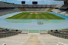 стадион barcelona олимпийский Стоковая Фотография