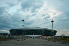 стадион donetsk donbass арены стоковое фото rf