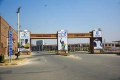 Стадион Faisalabad Iqbal стоковое фото rf