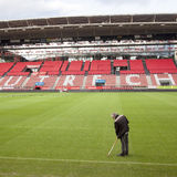 Стадион fc utrecht футбольного клуба в Нидерланд Стоковое Изображение RF