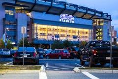 Стадион Foxborough Gillette стоковое фото rf