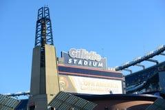 Стадион Gillette, Foxborough, МАМЫ, США стоковое изображение rf